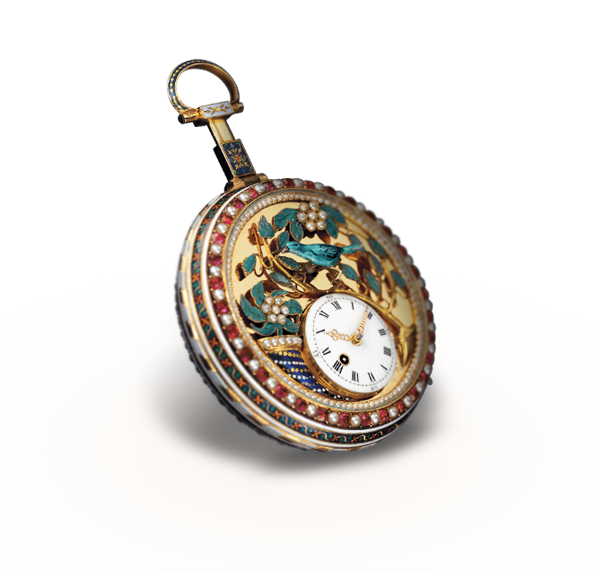 The singing bird pocket watch